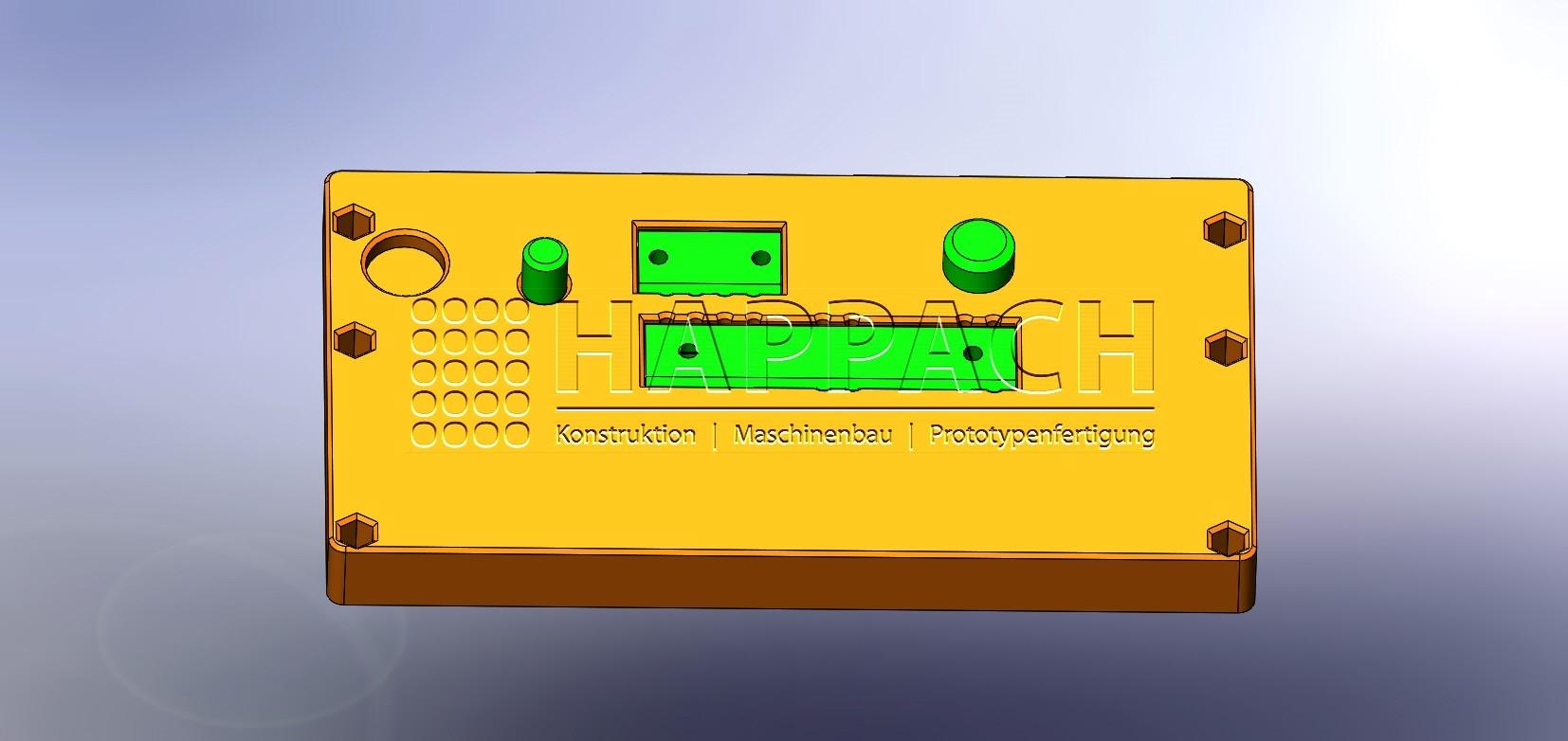 Vorrichtung für LED-CAD-W