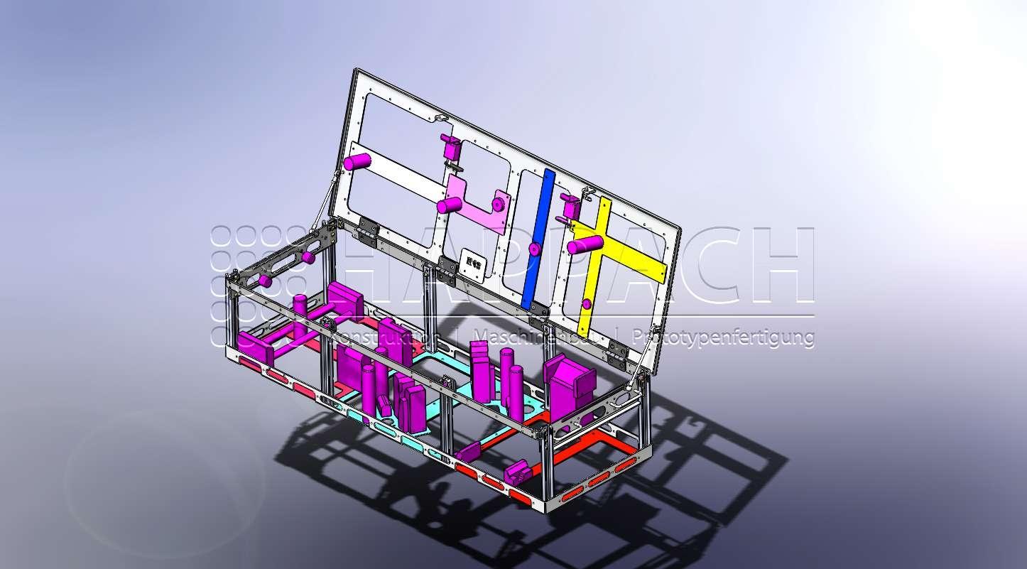 Warenträger-Motorradteile zum Reinigen CAD-W