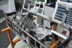 Warenträger-Motorradteile zum Reinigen-W