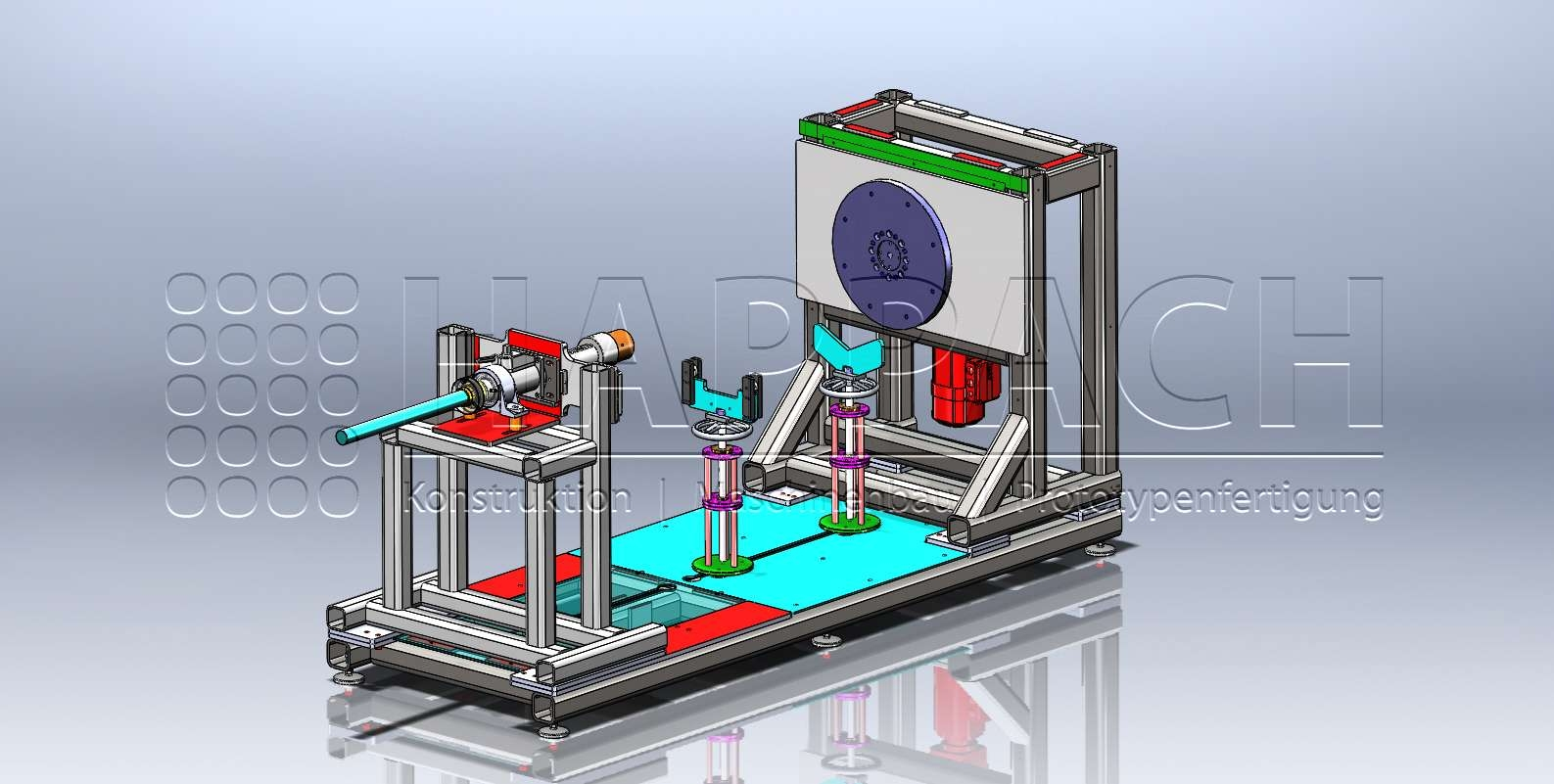 Drehvorrichtung CAD-W