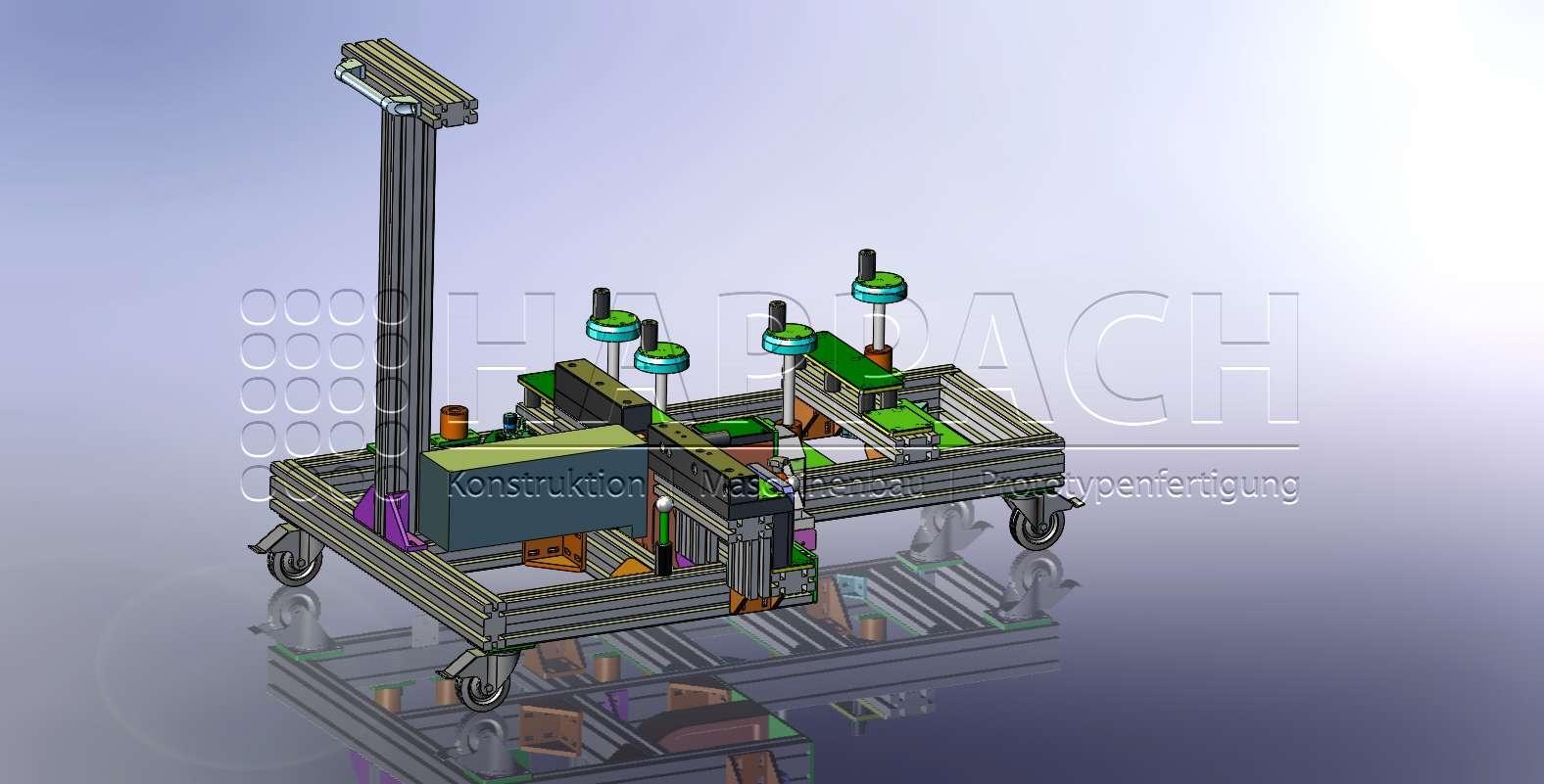 Lochstanze für Bleche-CAD-W