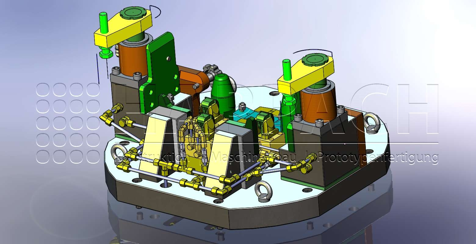 Fräsvorrichtung Bremse CAD-W