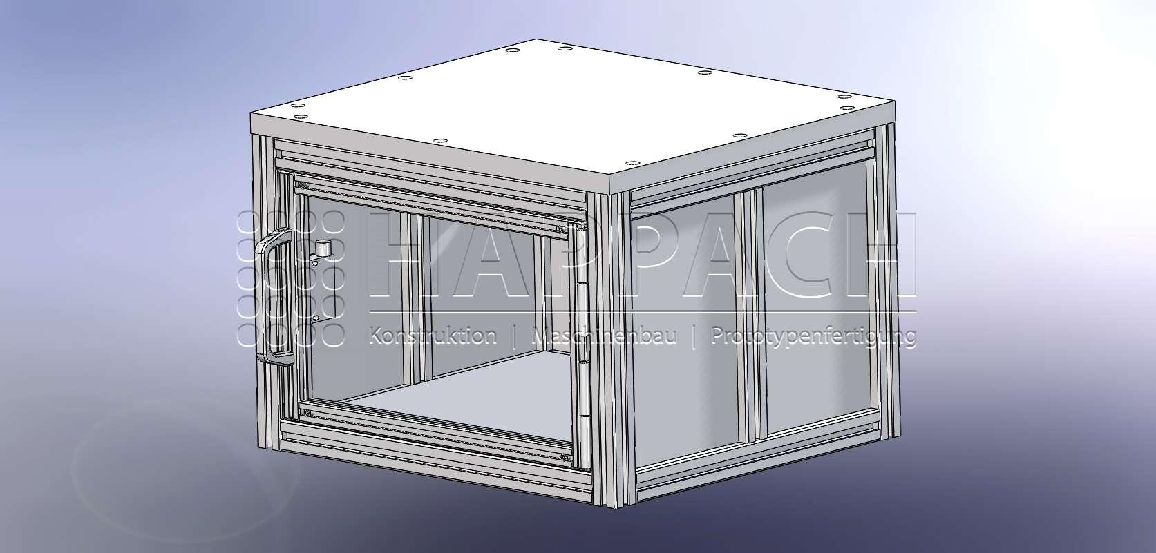 Einhausung Medizintechnik-CAD-W