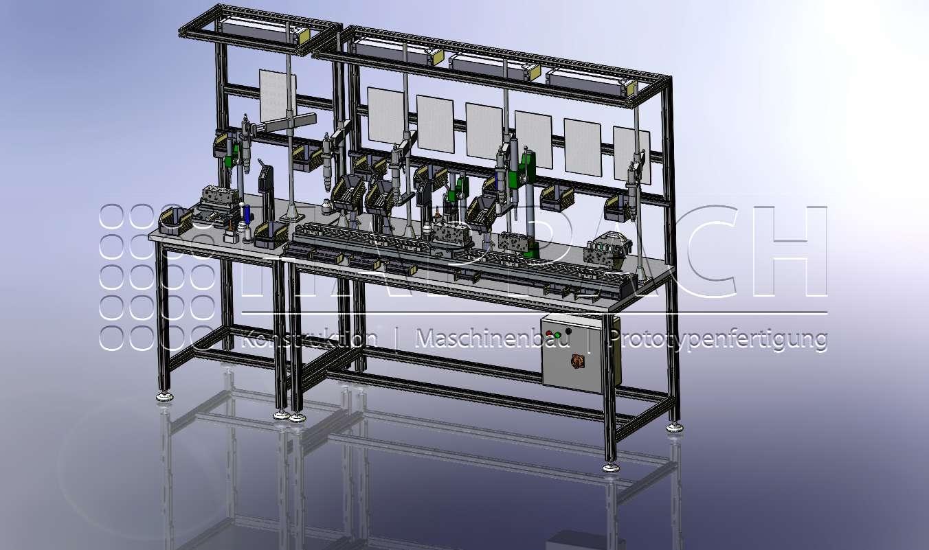Montage Steuereinheit-CAD-W