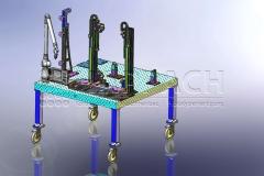 Prüfvorrichtung Blechkasten-CAD-W