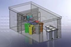 Mülltrennsystem CAD-W