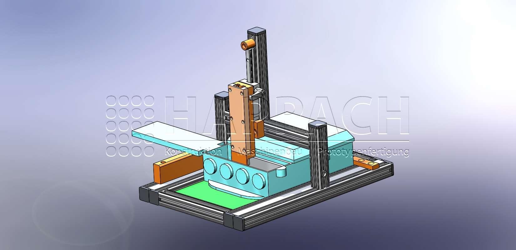 Prüfvorrichtung Kontakte-CAD-W
